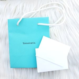 Tiffany Shopping Bag and Mini Note Card